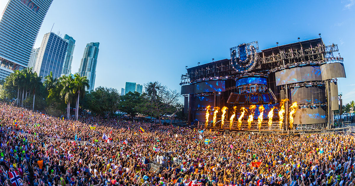 David Guetta At 《Miami Ultra Music Festival》 …