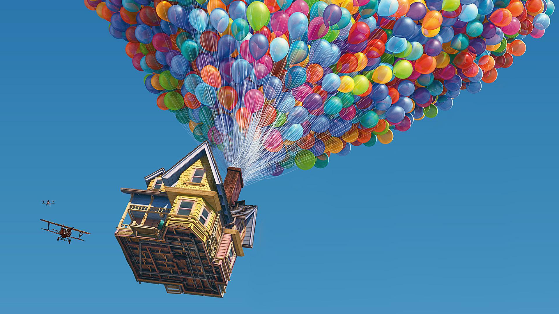 All 39 asta la casa che ispir il film d 39 animazione up for Tutto x la casa