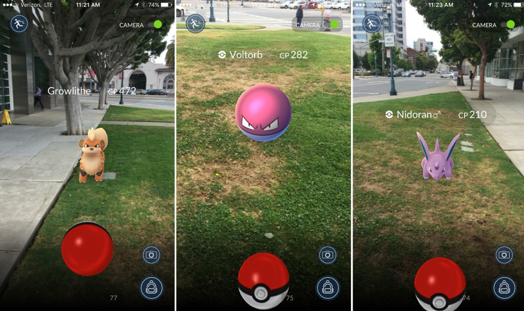Pokemon Go iOS
