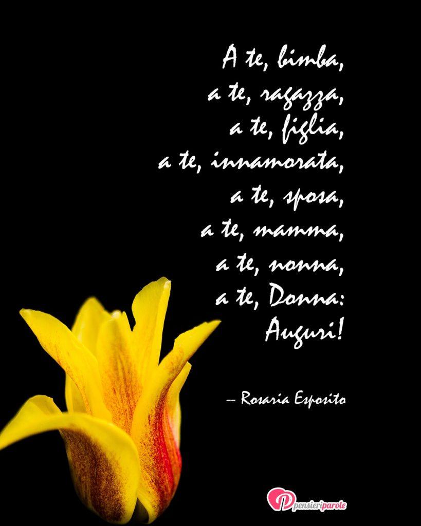 Buon 8 Marzo I Nostri Auguri A Tutte Le Donne Pensieriparole