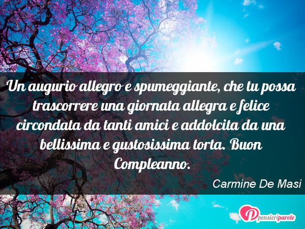Famoso con augurio auguri di compleanno di Carmine De Masi - Un augurio  EU48