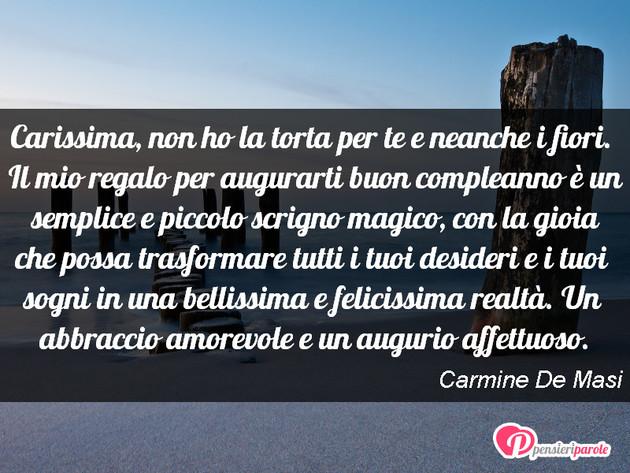 Fabuleux con augurio auguri di compleanno di Carmine De Masi - Carissima  FO81