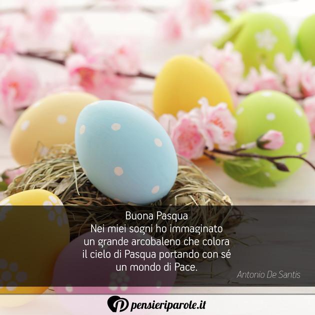 Immagine Con Augurio Auguri Di Pasqua Di Antonio De Santis Buona