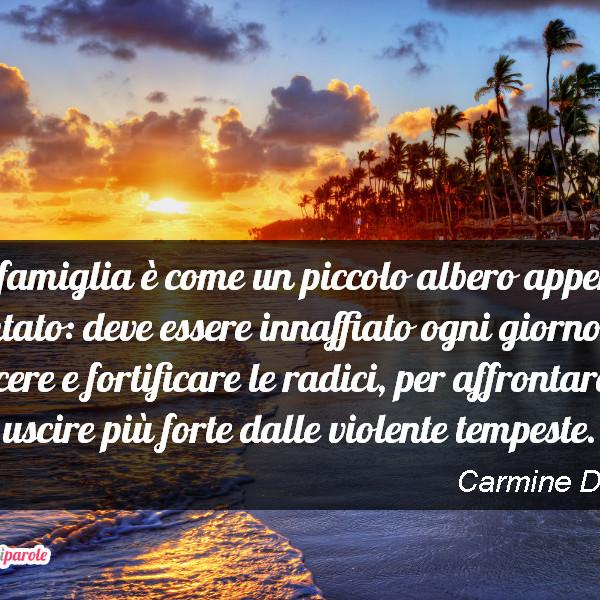 Immagine Con Frase Famiglia Di Carmine De Masi La Famiglia E