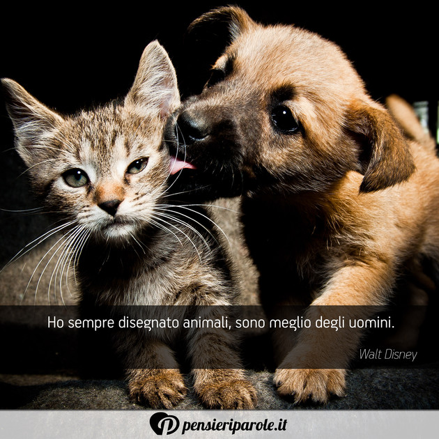 frasi buongiorno con animali