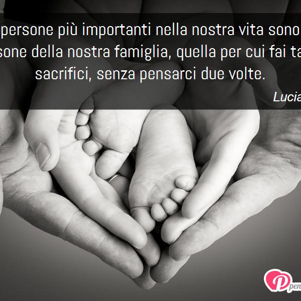 Immagine Con Frase Famiglia Di Lucia Quarta Le Persone Più