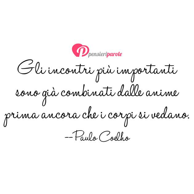 Frasi Matrimonio Coelho.Immagine Con Frase Libri Di Paulo Coelho Gli Incontri Piu