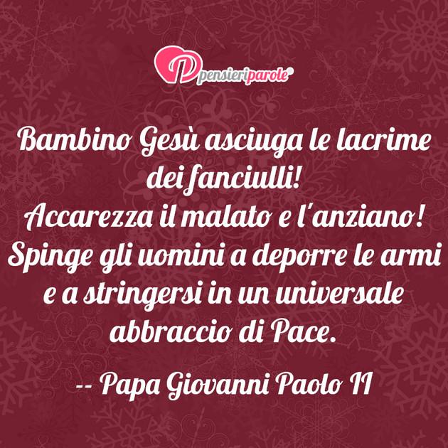 Popolare Bambino Gesù asciuga - Papa Giovanni Paolo II (Karol Wojtyla  JW44