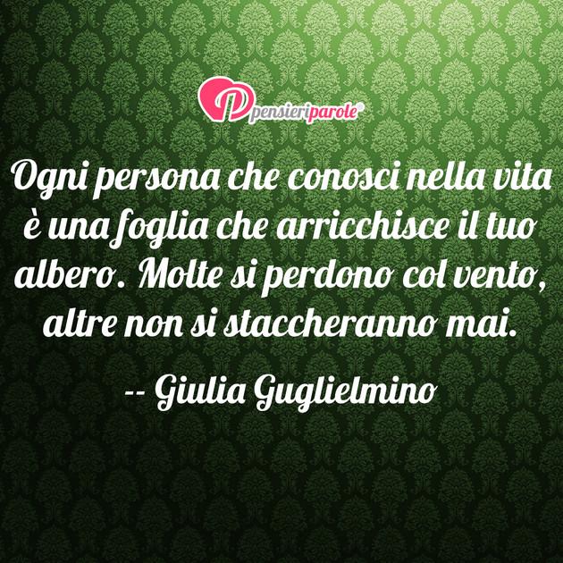 Eccezionale con frase vita di Giulia Guglielmino - Ogni persona che conosci  FS96