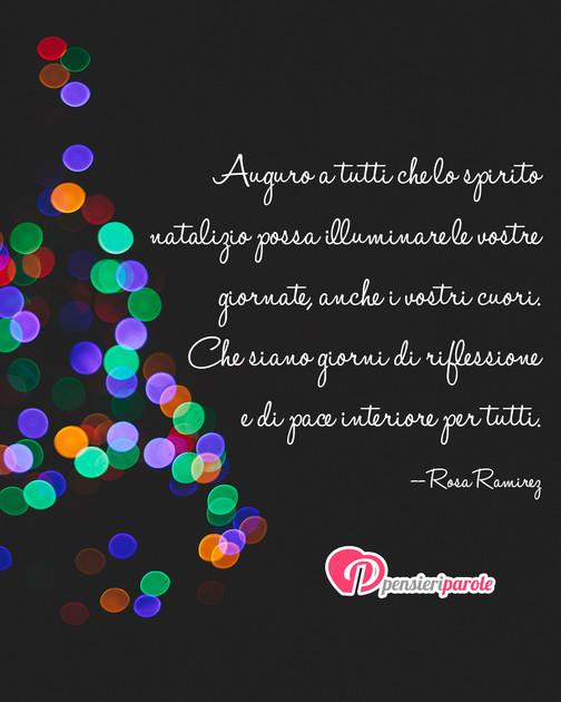 Immagine Con Augurio Auguri Di Natale Di Rosa Ramirez