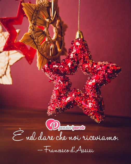 Frasi Di Natale Di San Francesco.Immagine Con Frase Auguri Di Natale Di San Francesco D