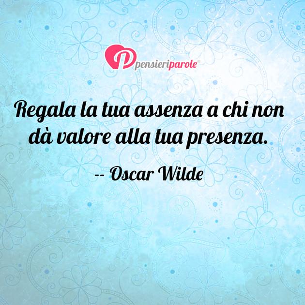 Immagine Con Frase Comportamento Di Oscar Wilde Regala La Tua