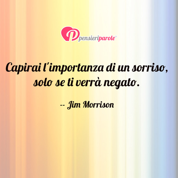 Jim Morrison James Douglas Morrison Pensieriparole