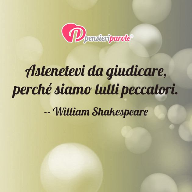 Immagine Con Frase Comportamento Di William Shakespeare