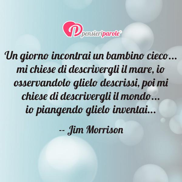 Fabuleux Un giorno incontrai - Jim Morrison (James Douglas Morrison  KR76