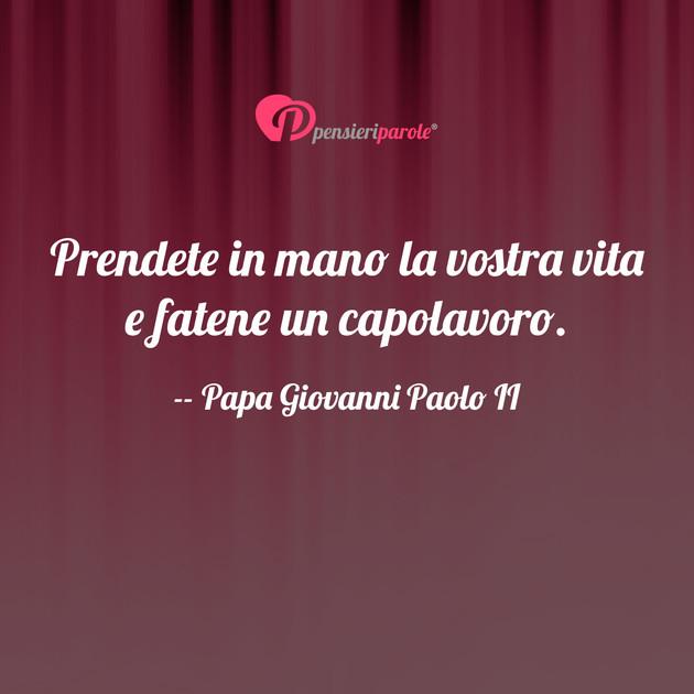 Frasi Matrimonio Karol Wojtyla.Immagine Con Frase Destino Di Papa Giovanni Paolo Ii Karol