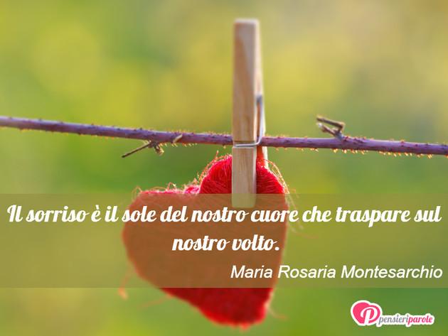 Immagine Con Frase Sorriso Di Maria Rosaria Montesarchio Il