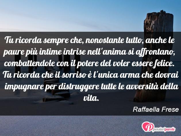 Immagine Con Frase Saggezza Di Raffaella Frese Tu Ricorda