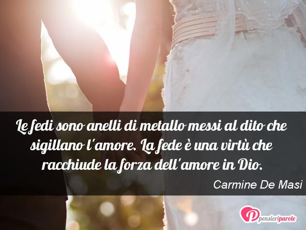 Frasi Matrimonio Amore.Immagine Con Augurio Auguri Di Matrimonio Di Carmine De Masi Le