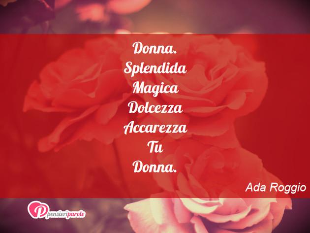 Immagine Con Augurio Festa Della Donna Di Ada Roggio Donna