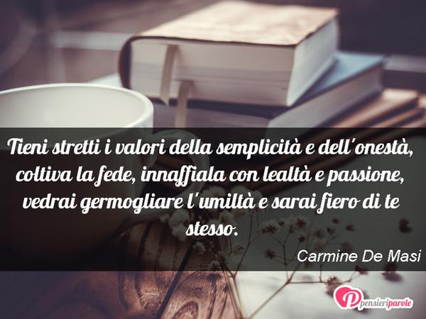 Tieni Stretti I Valori Della Carmine De Masi Pensieriparole