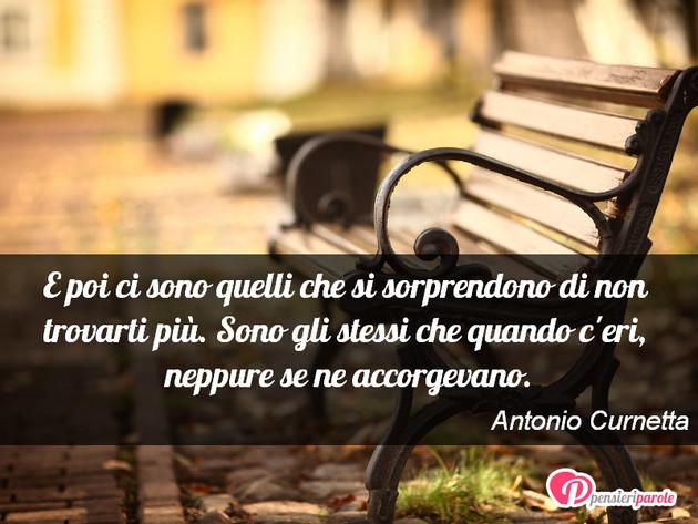 Immagine Con Frase Comportamento Di Antonio Curnetta E Poi Ci Sono
