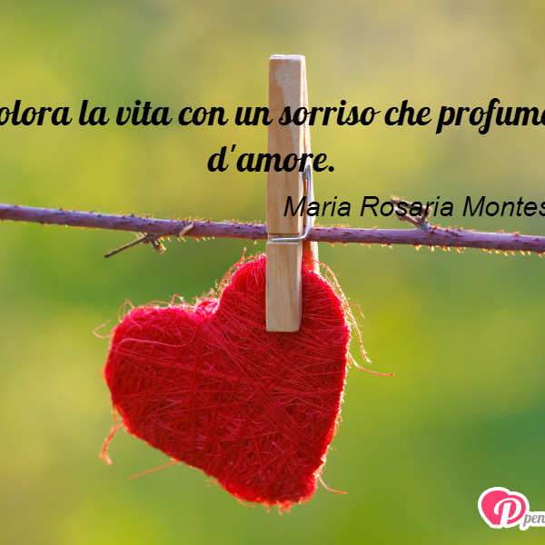 Molto Colora la vita con un sorriso - Maria Rosaria Montesarchio  WR31