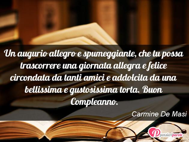 Immagine Con Augurio Auguri Di Compleanno Di Carmine De Masi Un